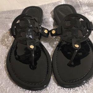 Miller Sandal, Paten Leather